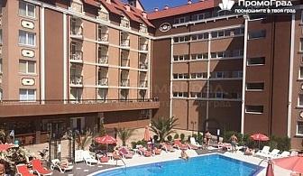 За абитуриентския бал в Слънчев бряг, хотел Бахами Резиденс. Нощувка в студио за двама