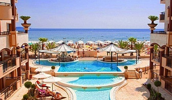 All Inclusive + басейн на първа линия през Май и Юни в хотел Golden Ina, Слънчев Бряг