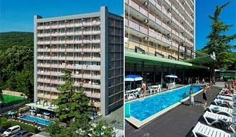 All Inclusive + басейн през Май и Юни в хотел Царевец, кк. Златни Пясъци