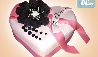 """АМОРЕ! Подарете Торта """"Сърце"""" по дизайн на Сладкарница Джорджо Джани"""