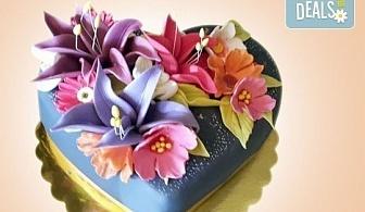 """AMORE! Подарете Торта """"Сърце"""" по дизайн на Сладкарница Джорджо Джани"""