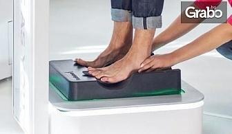 Анализ на стъпалата и динамичен анализ по време на движение