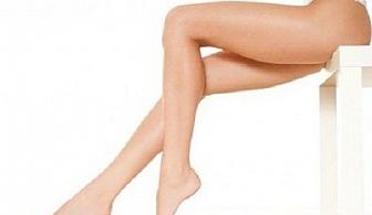 Антицелулитен апаратен масаж + мануален + лимфодренажен масаж на цели крака и седалище само за 10.90 лв. в козметично студио Bellisima Donna, София