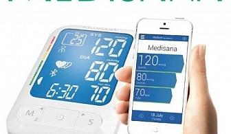 Апарат за кръвно налягане с Bluethooth Medisana BU 550 connect