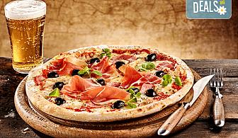 Апетитно и изгодно! Пица по избор от менюто на ресторант Болярите в Банкя и безплатна бира!
