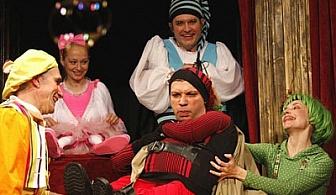 """На 6-ти Април в Театър Възраждане: детското представление """"Снежанка и седемте джуджета""""! Заведете малчуганите непременно с билет само за 5 лв.!"""