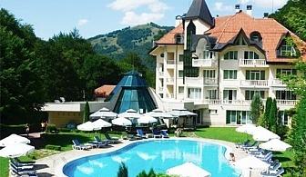 Август и Септември в Рибарица! Нощувка, закуска и вечеря + басейн и SPA в хотел Evergreen Palace***