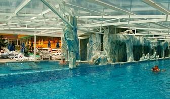 АВГУСТ И СЕПТЕМВРИ ВЪВ ВЕЛИНГРАД - хотел Аура! Нощувка със закуска и вечеря + три минерални басейна и Спа на цени от 56лв. на човек!!!