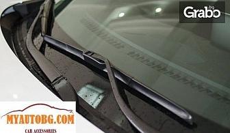 Автомобилна чистачка с хибридна технология