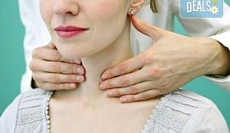 Бъдете здрави! Ехография на щитовидна жлеза и изследване на TSH хормон в МЦ Медкрос!
