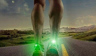 Безопасна LED светлина за спортисти