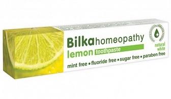 Bilka Homeopathy Lemon Natural Whitening Toothpaste