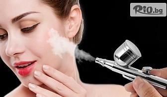 RF и биолифтинг на околоочен контур или Дълбоко почистване на лице с кислородна мезотерапия и криотерапия с 52% отстъпка, от Салон за красота Мелани - Център