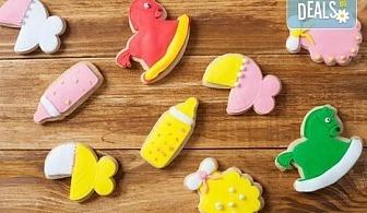 Бисквити за кръщене, рожден ден или изписване на бебе от Сладкарски цех Muffin House!
