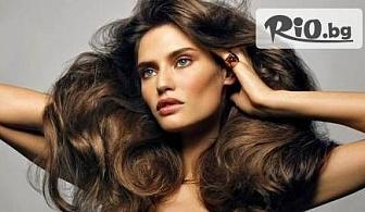 Ботокс терапия за коса и страхотна прическа по избор - права или букли с 66% отстъпка само за 11.90 лв, от Студио за красота M-Fashion!
