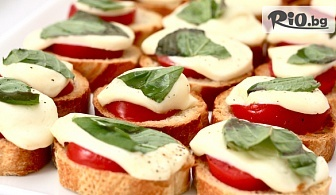 70 или 100 броя мини сандвичи и парти кюфтенца, аранжирани за директно сервиране, от Криейтив кетъринг