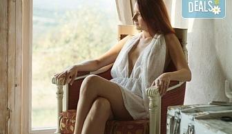Будоарна или еротична фотосесия с продължителност 2 ч. на посочена от клиента локация в София и региона от Студио Арт!