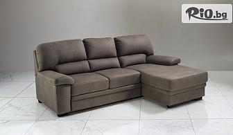 Бутиков ъглов диван Модена в цвят по избор + безплатна доставка за цялата страна, от Класически мебели Прованс