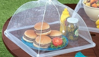 Чадърче - покривало за храна