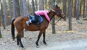 """1 или 2 часа конна езда от Конна База """"Св. Иван Рилски"""", с. Владая, до София"""