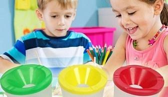 Чашка за рисуване със защита от разливане