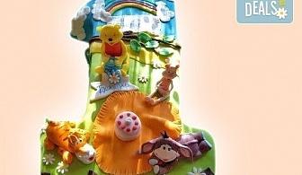Честито бебе! Торта за изписване от родилния дом, за 1-ви рожден ден или за прощъпулник! Специална оферта на Сладкарница Джорджо Джани!