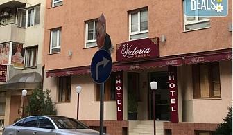 Цяло лято в хотел Виктория 3*,гр. Варна!  1 нощувка без изхранване, безплатно за дете до 6.99г.