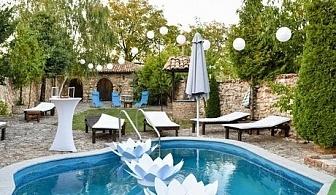 Цяло лято край Варна в къща за гости Галата, с басейн, две механи, караоке, фитнес и още много удобства само за 25 лв. на вечер.