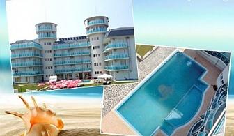 Цяло лято в Лозенец! 5 All Inclusive light нощувки за ДВАМА хотел Сънсет Бийч***, на 200м. от плажа. Дете до 13г. – БЕЗПЛАТНО!