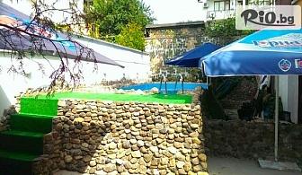 Цяло лято на море в Китен! 2 или 3 нощувки със закуски, обеди и вечери за двама + басейн с шезлонги и чадъри, от Семеен хотел Грийн Палас