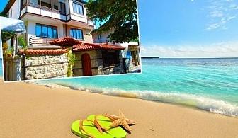 Цяло лято в Несебър на 300м. от плажовете. Нощувка за ДВАМА или ТРИМА в Къща за гости Катя на ТОП ЦЕНИ