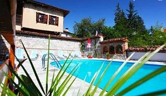 Цяло лято нощувка със закуска + басейн на цени от 21 лв. в Тодорини къщи, Копривщица