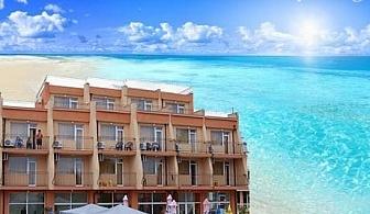Цяло лято в Равда. Нощувка, закуска, обяд и вечеря в хотел Германа Бийч, на 40м от плажа