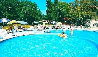 Цяло лято в Златни пясъци! Нощувка на човек със закуска + басейн в хотел Преслав***, на 150м. от плажа