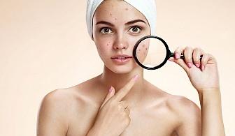 Дълбоко почистваща терапия на лице + подарък почистване и оформяне на вежди oт Салон за красота Cuatro
