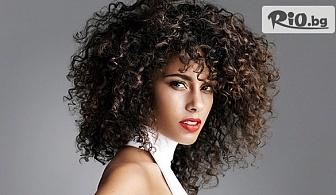 Дамско подстригване + плитка по избор на клиента или Афро къдрици, от Салон за красота САНДРА Style