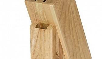 Дървена поставка за ножове Tescoma от серия Woody