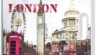 Дъска за рязане с мотив London 30 х 38 см