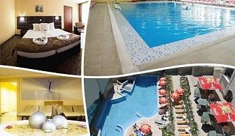 Делнична СПА почивка + горещ минерален басейн във Велинград! Една или две нощувки със закуски, обеди и вечери в Хотел Здравец Уелнес и СПА****