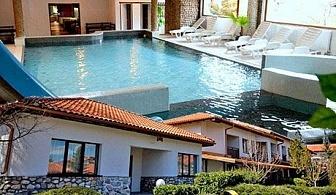 Делнична СПА почивка с топъл МИНЕРАЛЕН басейн. 4 нощувки със закуски в Комплекс Пири, с. Баня, до Банско. Бонус: Безплатна нощувка