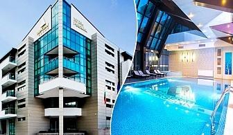 Делник в Девин! Нощувка на човек със закуска, вечеря по избор + солна стая + минерален басейн и СПА от хотел Персенк*****