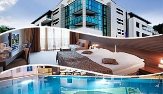Делник в Девин! 2 нощувки на човек със закуски + минерален басейн и СПА в хотел Персенк*****