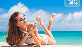 За 1 ден на плаж през юли или август в Неа Ираклица, Гърция! Транспорт и екскурзовод от Глобул Турс!