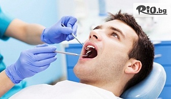 Дентален обстоен преглед със снемане на зъбен статус, поставяне на зъбен имплант и контролен преглед, от Eвровита Дентал