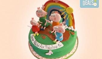 Детска АРТ торта с фигурална 3D декорация с любими на децата герои от Сладкарница Джорджо Джани