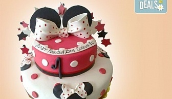 Детска АРТ торта с фигурална ръчно изработена декорация с любими на децата герои от Сладкарница Джорджо Джани