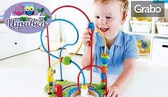 "Детска логическа игра ""Занимателна спирала""на немската марка Наре"