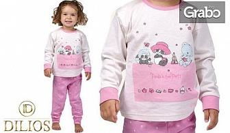 Детска пижама Tea Party за дете от 2 до 5г