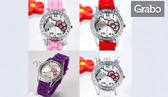 Детски часовник Hello Kitty в цвят по избор