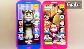 Детски смартфон с приказки и песни на български език - модел по избор